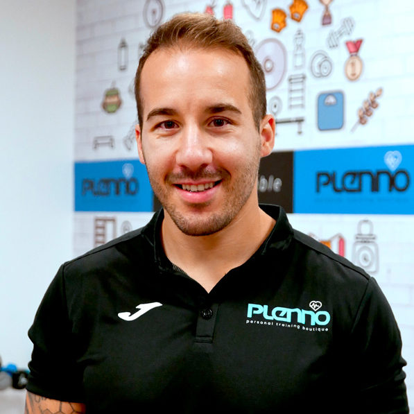 Javier Entrenador fisioterapeuta Plenno