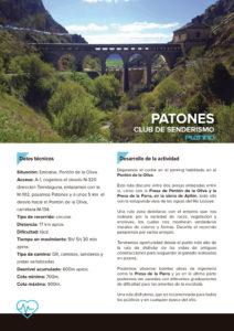 Ruta senderismo Patones
